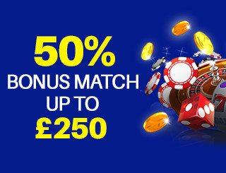 cash match deposit bonus online