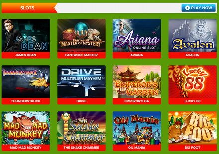 Slots Games UK Casino