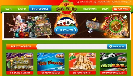 Step Up for Your Online Free Casino Scratch Cards Bonus Games