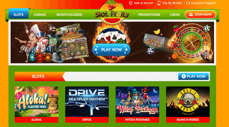 Slot Fruity Virtual Casino