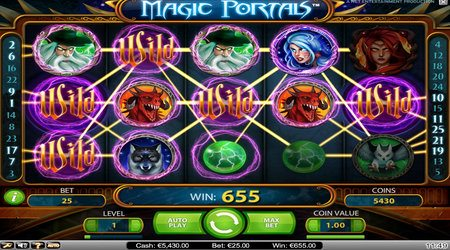 Magic Portals Free Spins Online And Mobile Slot Game