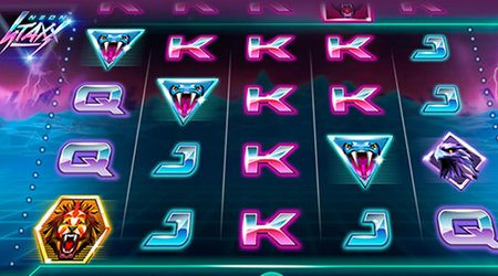 Neon Staxx Retro Feel Neon Lighting Slot Game Online