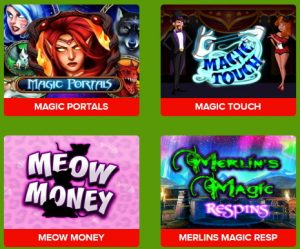 best casino slot games selection