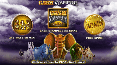 cash stampede 243 ways to win