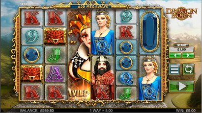 Dragon Born Slots Game