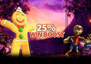 25% Win Boost