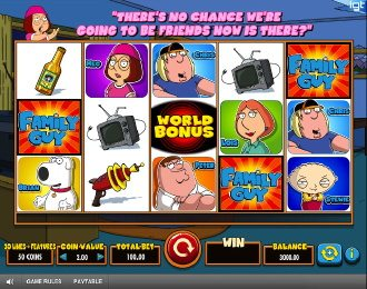 Family Guy Slots Game