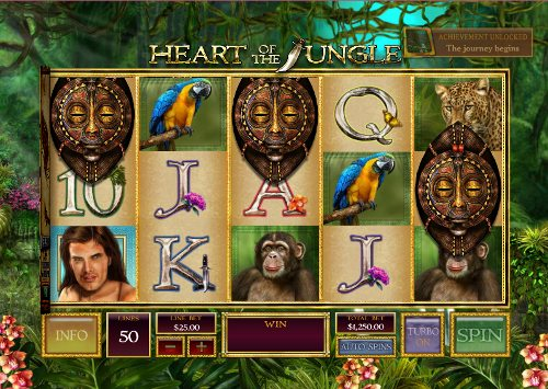 Golden Jungle Slots Casino Free Spins No Deposit Required Slots Game