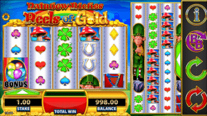 Rainbow Riches reels of the gold