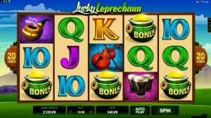 Lucky Leprechaun is a wonderful Irish-themed online slots game