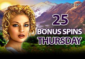 Bonus Spins Thursdays