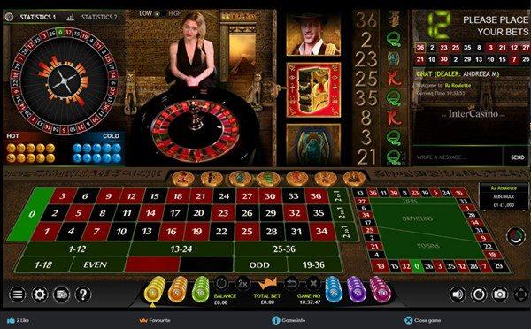 Ra Roulette Live Dealer