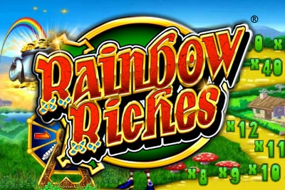 Rainbow Riches spins saor in aisce