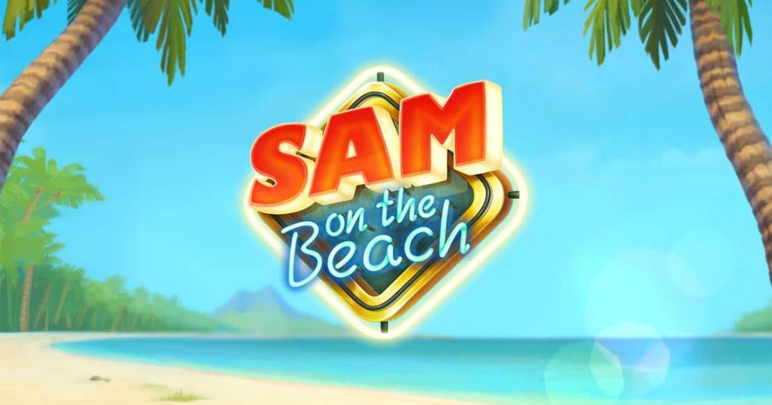 Sam sur la strando