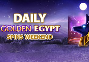 DAILY GOLDEN EGYPT SPINS WEEKEND