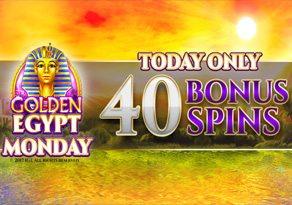 GOLDEN EGYPT PROMOSI