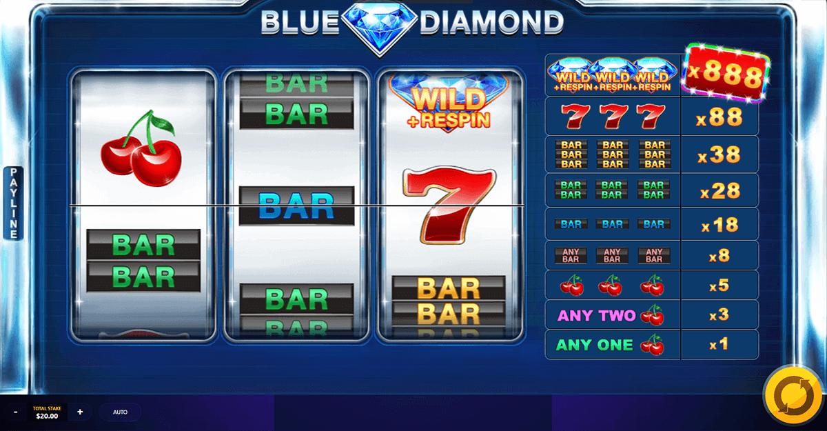 Blue Diamond Slot Bonus