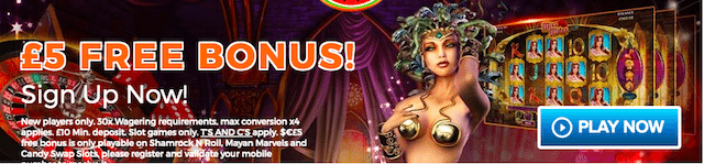 free cash bonus casino offer