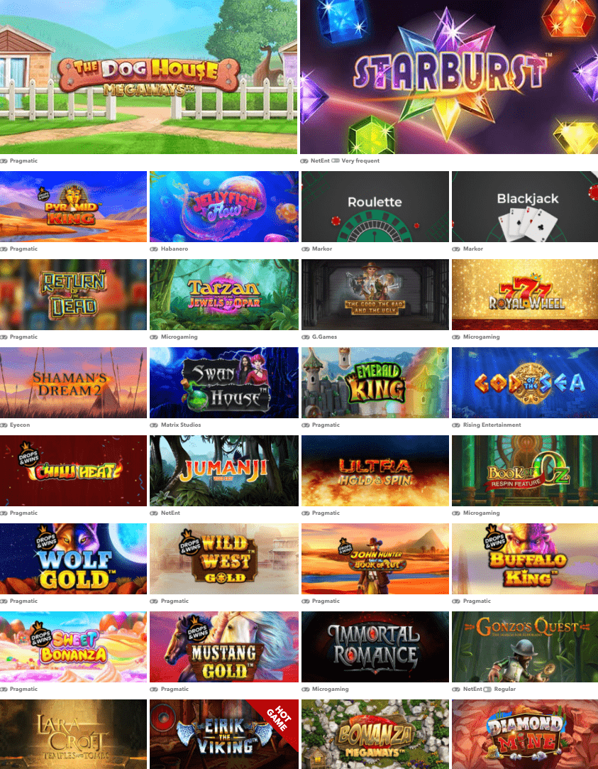 uk online phone mobile casino Slots